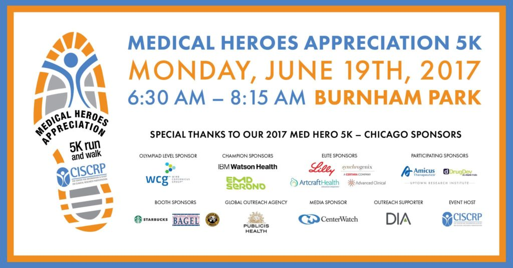 Chicago MedHero5K Run/Walk